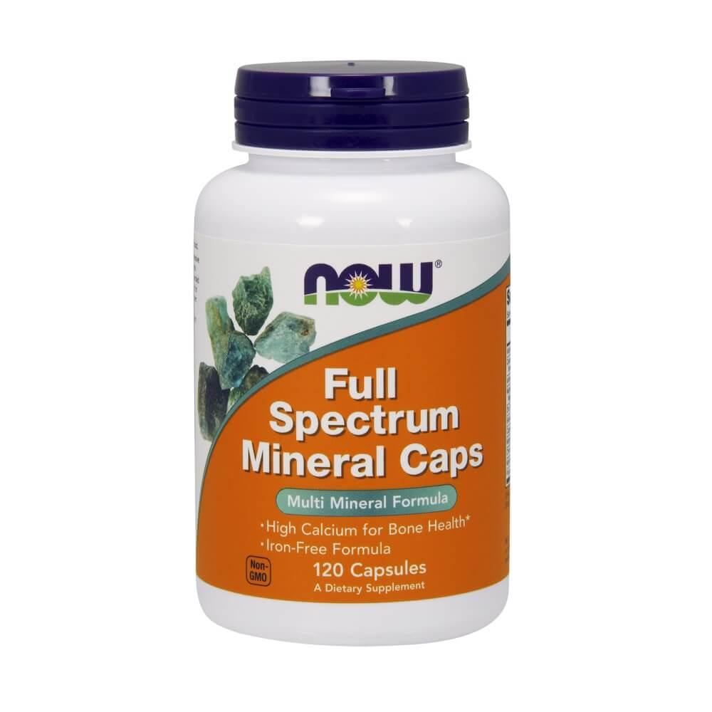 Full Spectrum Mineral 120 Caps Now Foods