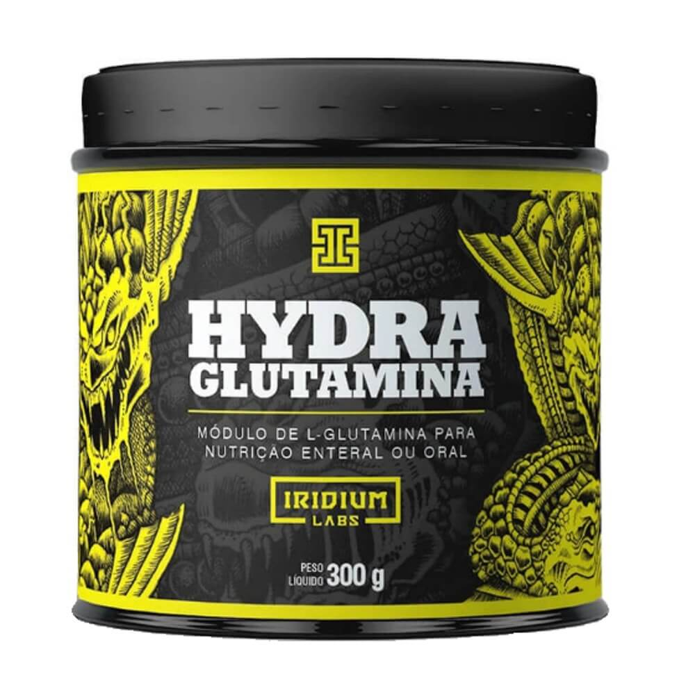 Glutamina Powder Hydra 300g - Iridium