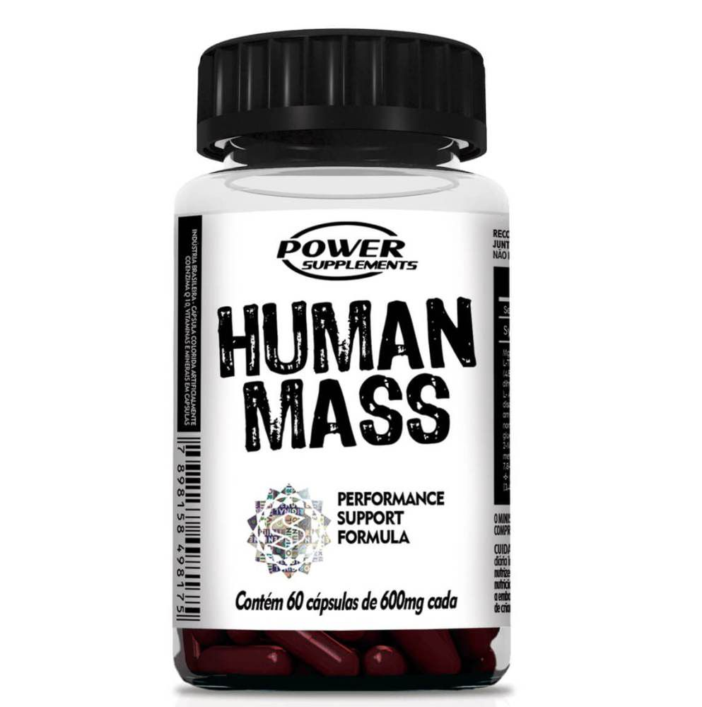 Human Mass Power Supplements 60 cápsulas