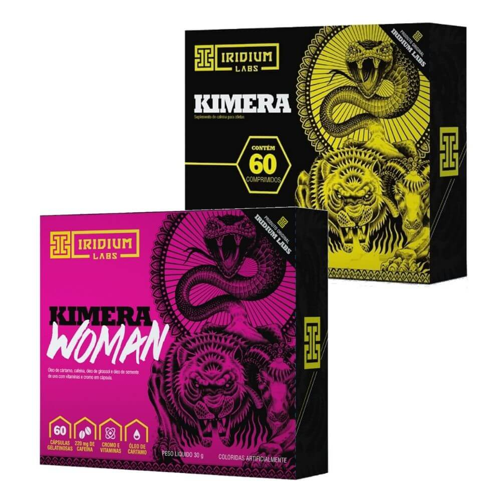 Kit Kimera Thermo e  Kimera Woman Iridium Labs