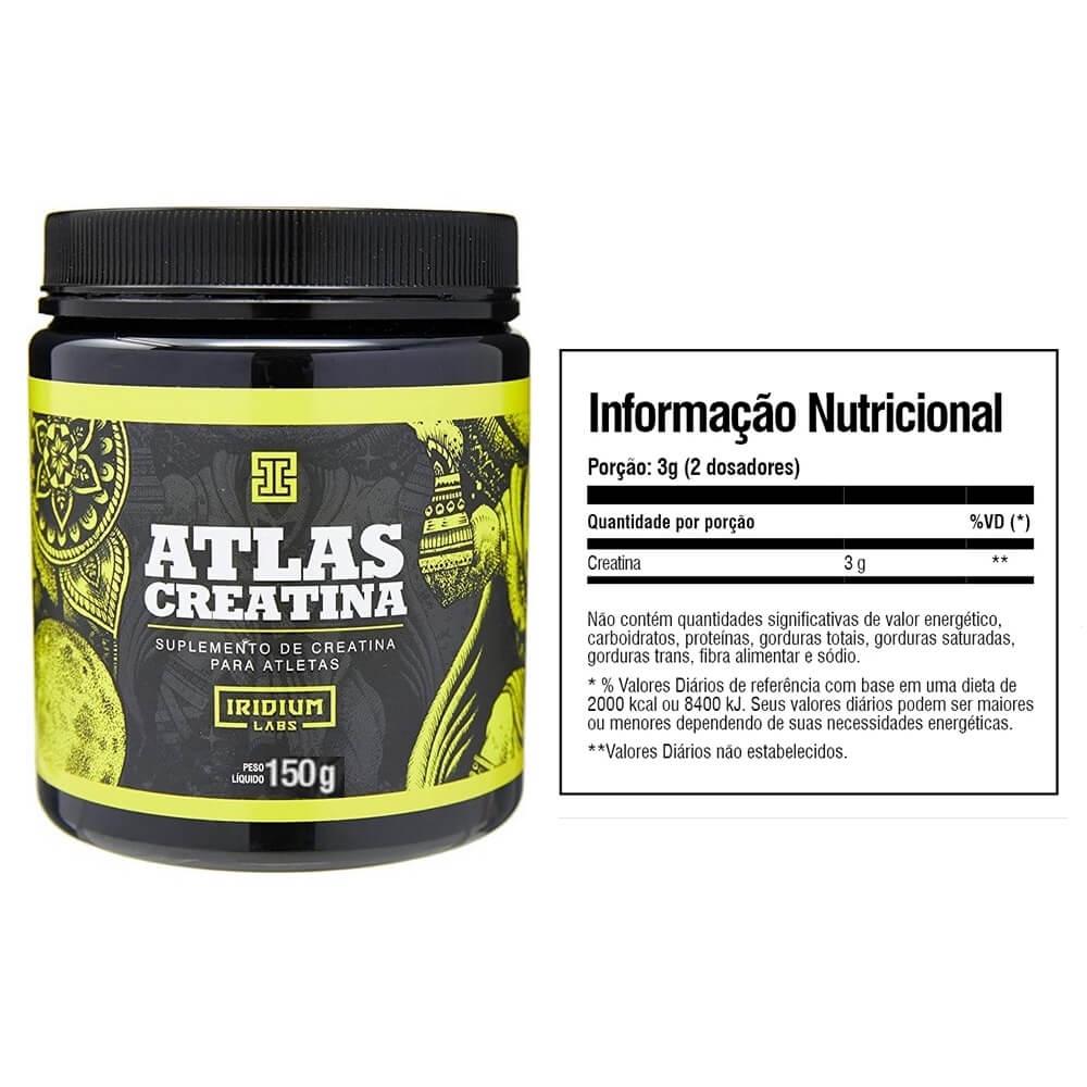 Kit Suplementos Hipertrofia Whey, Crea, BCAA, Cafeina e Coqueteira