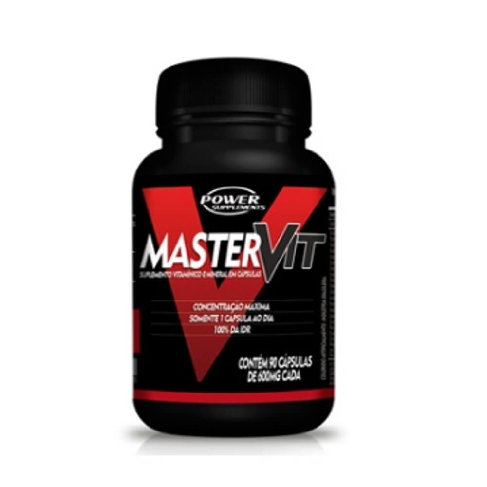Master Vit 90 cápsulas Multivitamínico - Power Supplements