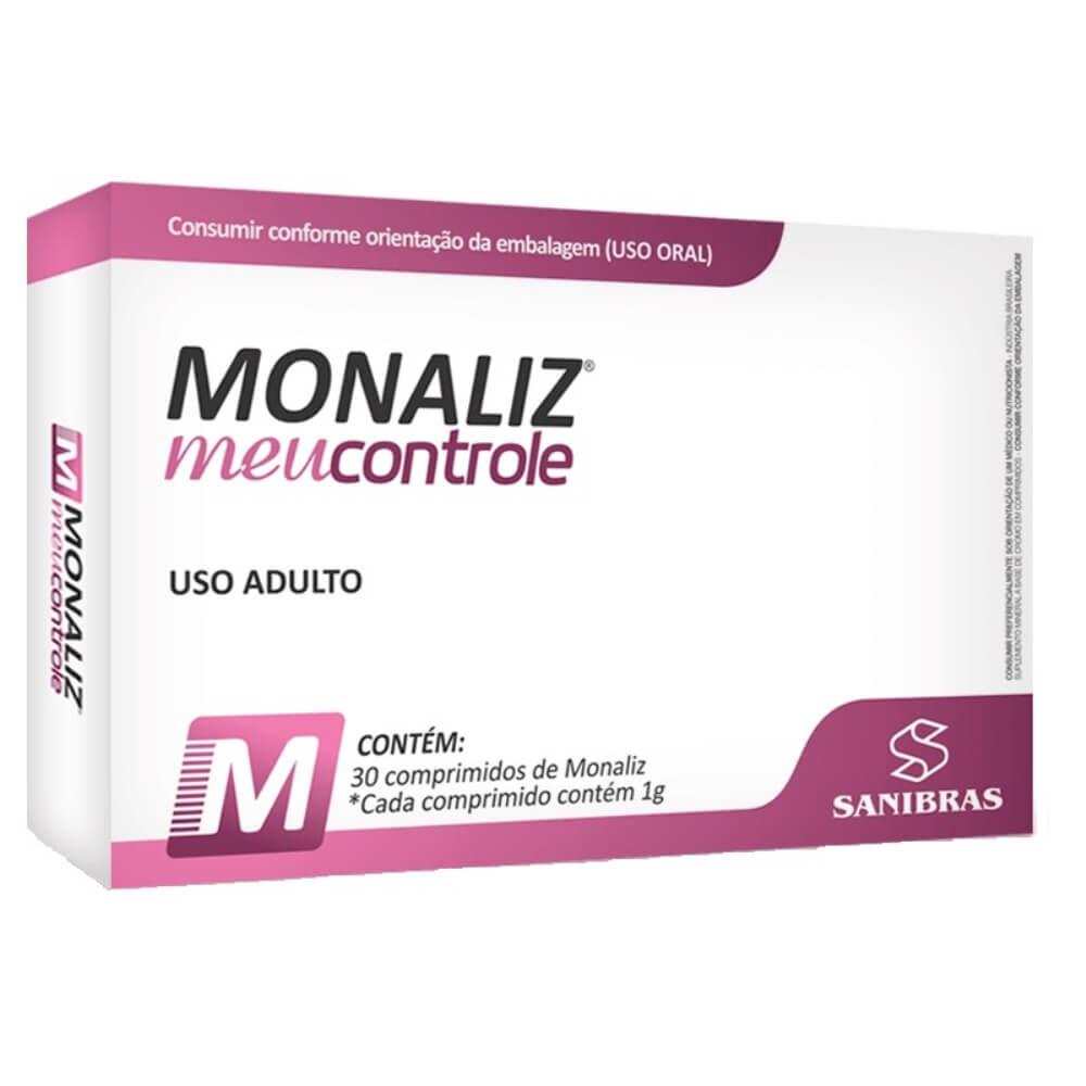 Monaliz Meu Controle Sanibras 30 Comprimidos