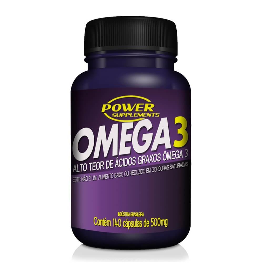 Ômega 3 500mg com 140 cápsulas - Power Supplements