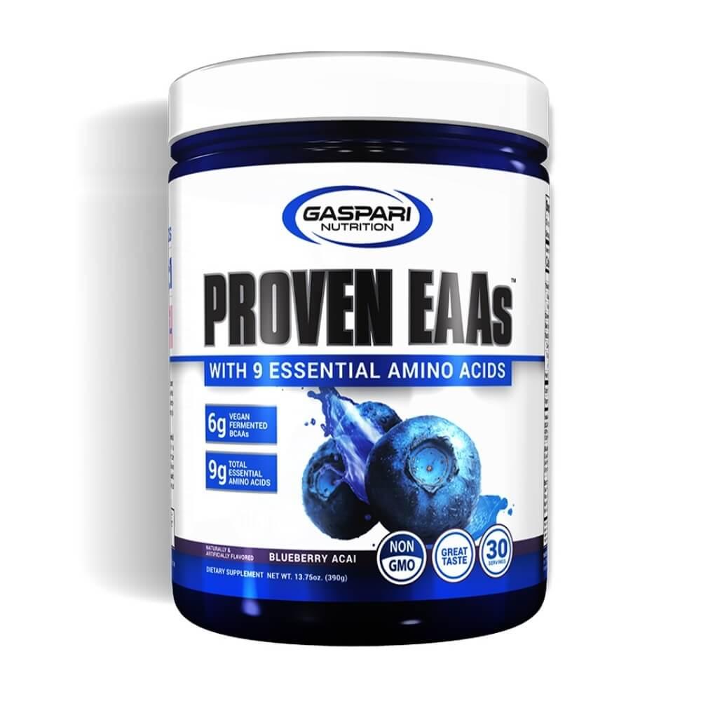 Proven EAAs 390g 9 Aminoácidos Essenciais Sabor Açai Gaspari Nutrition