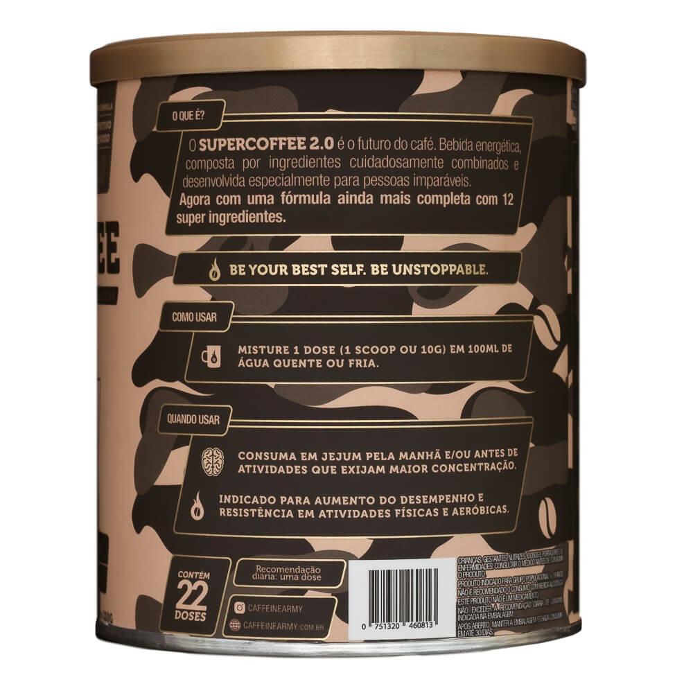 SuperCoffee 2.0 Caffeine Army 220g