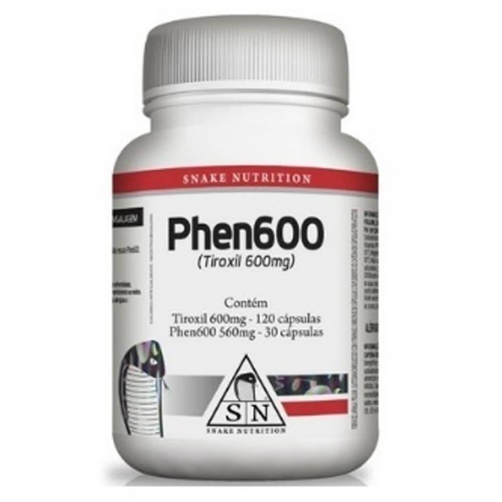 Termogênico Phen 600 Snake Nutrition