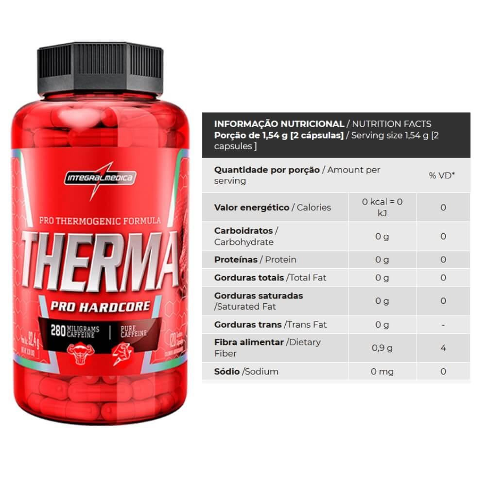Therma Pro Hardcore Integralmedica 120 cps