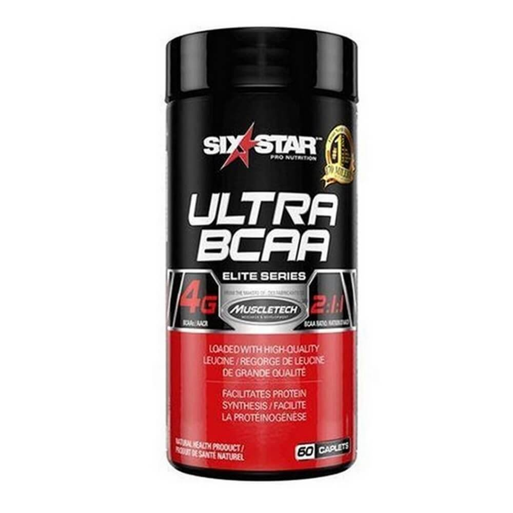 Ultra BCAA  60 Tabletes  Six Star