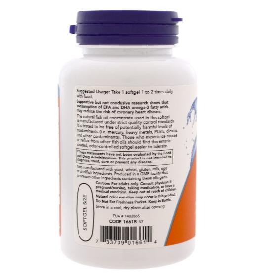 2db56ad40 ... Ultra Omega 3 90 cápsulas 500EPA   250DHA - Now Foods - V Taper  Suplementos e