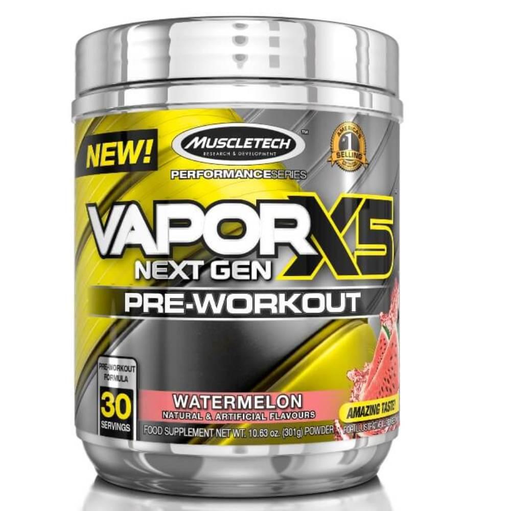 Vapor X5 Pré-Treino Muscletech  Sabor Melancia