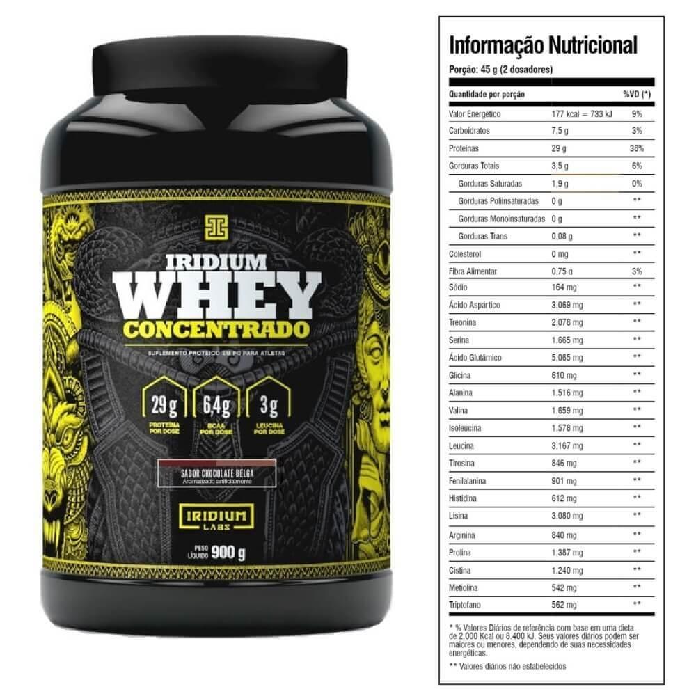 Whey Concentrado Iridium Labs 900g