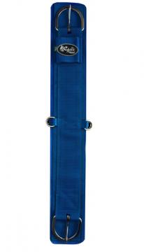 Barrigueira Reta de Neoprene INOX Azul