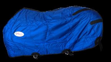 Capa Fit Nylon Impermeável Forrada Azul Royal