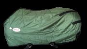 Capa Fit Nylon Impermeável Forrada Verde Musgo