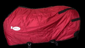 Capa Fit Nylon Impermeável Forrada Vermelho