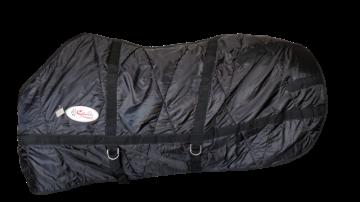 Capa Inverno com Cobertor Nylon Impermeável Preto