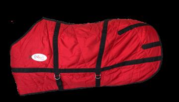 Capa Inverno com Cobertor Nylon Impermeável Vermelho