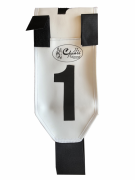 Marcador para Boi Ranch Sorting Branco- 10 Peças