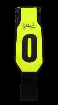 Marcador para Boi Ranch Sorting Verde Florescente- 10 Peças
