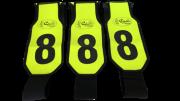 Marcador para Boi Team Penning  Verde Florescente- 30 Peças