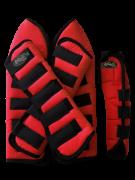 Protetor para Viagem Curto Nylon com Rabeta - Vermelho