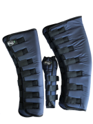 Protetor para Viagem Longo Nylon Balístico com Rabeta - Azul Marinho