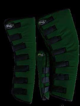 Protetor para Viagem Longo Nylon  com Rabeta - Verde Escuro
