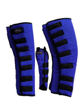 Protetor para Viagem Longo Nylon com Rabeta - Azul Royal