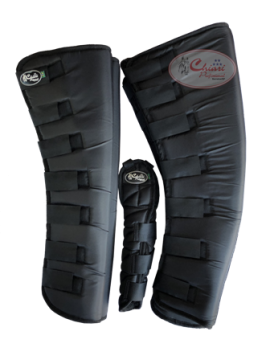 Protetor para Viagem Longo Nylon com Rabeta - Preto