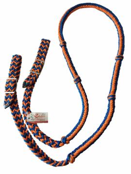 Rédea Grossa Azul Royal c/ Laranja