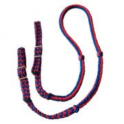 Rédea Grossa Azul Royal c/ Vermelho