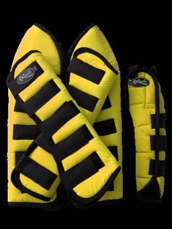 Protetor para Viagem Curto Nylon com Rabeta - Amarelo