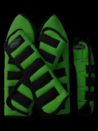 Protetor para Viagem Curto Nylon com Rabeta - Verde Bandeira