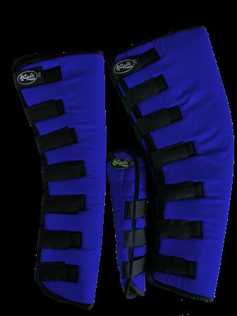 Protetor para Viagem Longo Nylon Balístico com Rabeta - Azul Royal