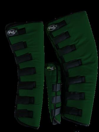 Protetor para Viagem Longo Nylon Balístico com Rabeta - Verde Escuro