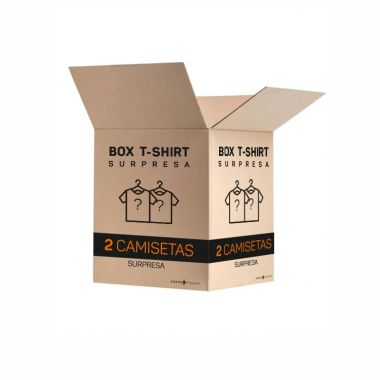 BOX SURPRESA - 2 T-SHIRTS
