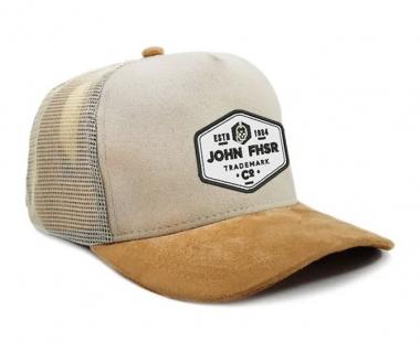 New Boné Trucker John Fisher Creme