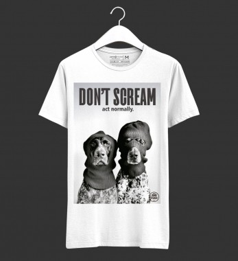 T-Shirt Don't Scream