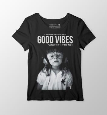 T-Shirt Feminina Good Vibes