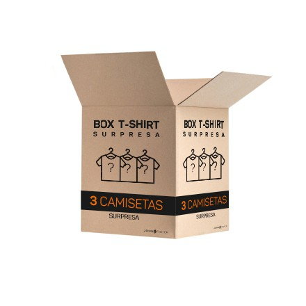 BOX SURPRESA - 3 T-SHIRTS