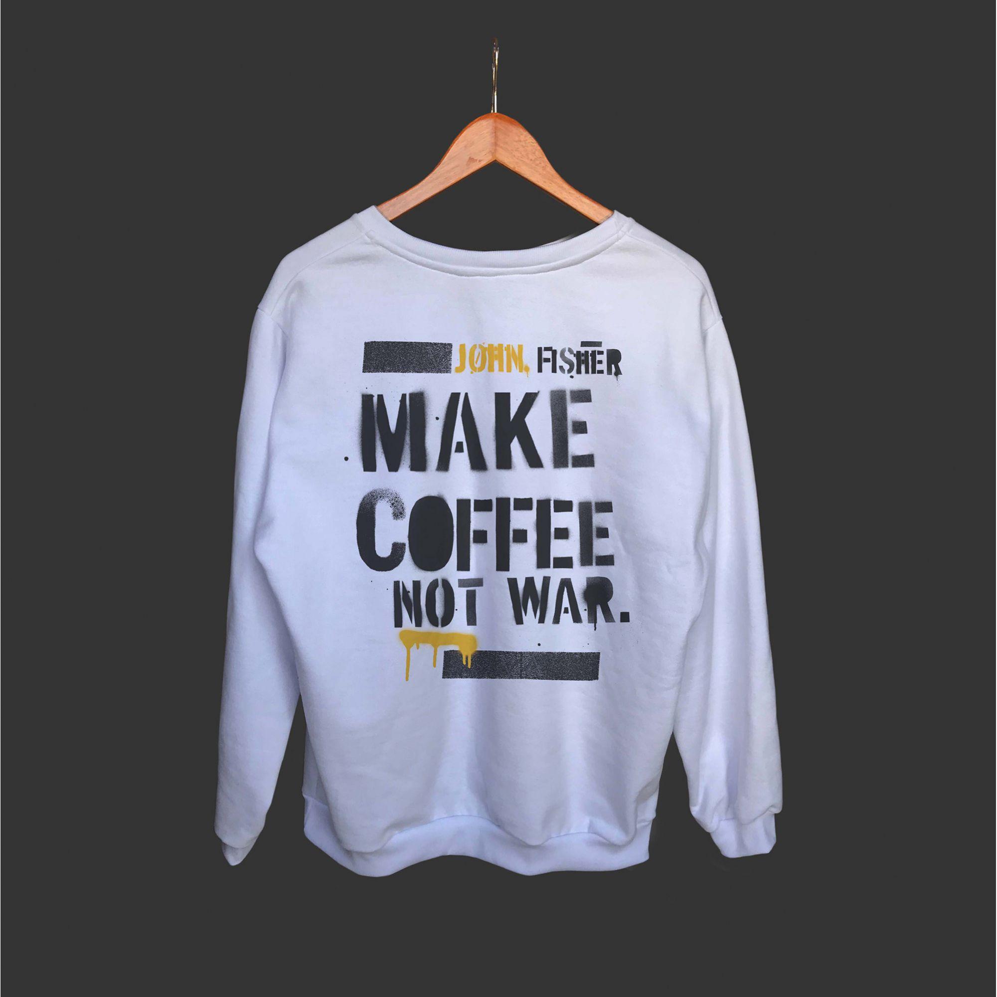Moletom Branco Coffee