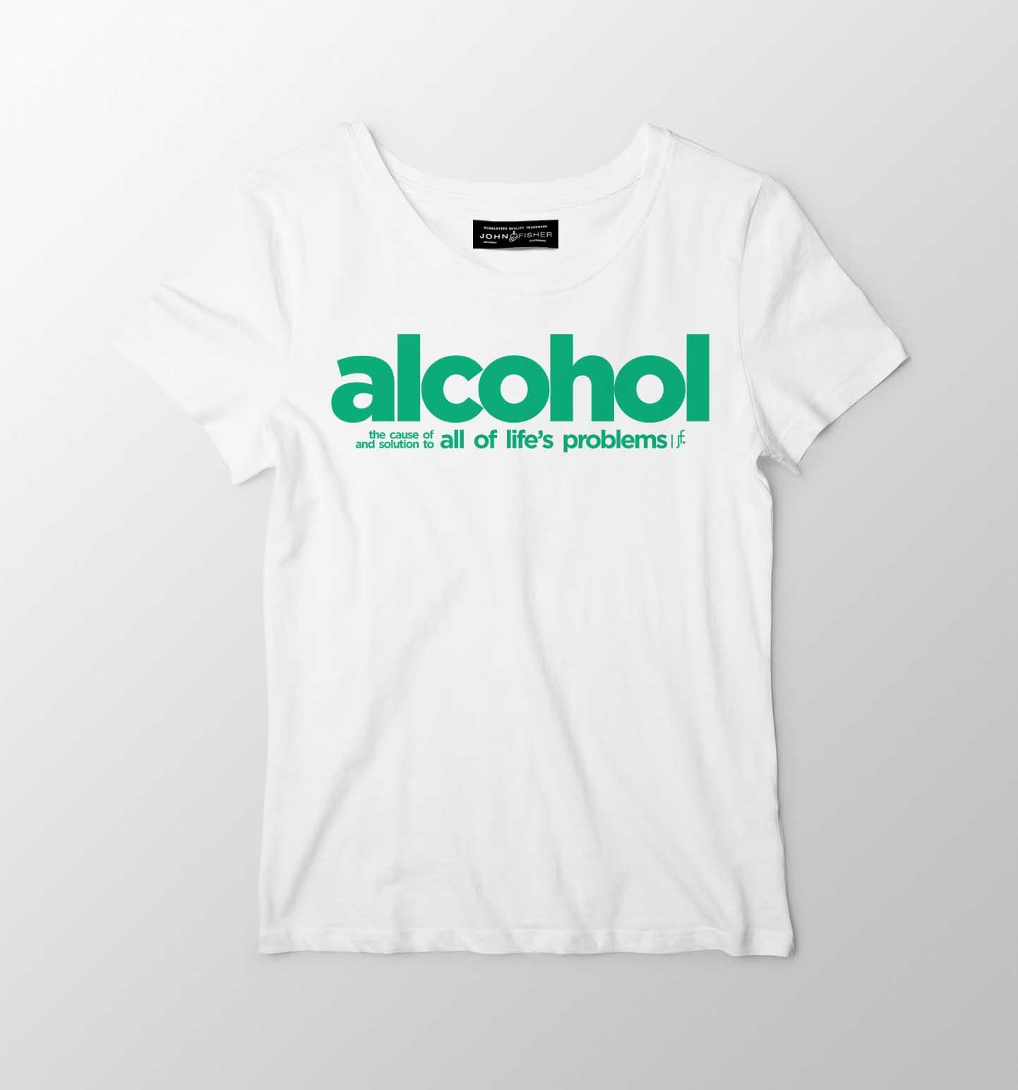 T-Shirt Feminina Alcohol