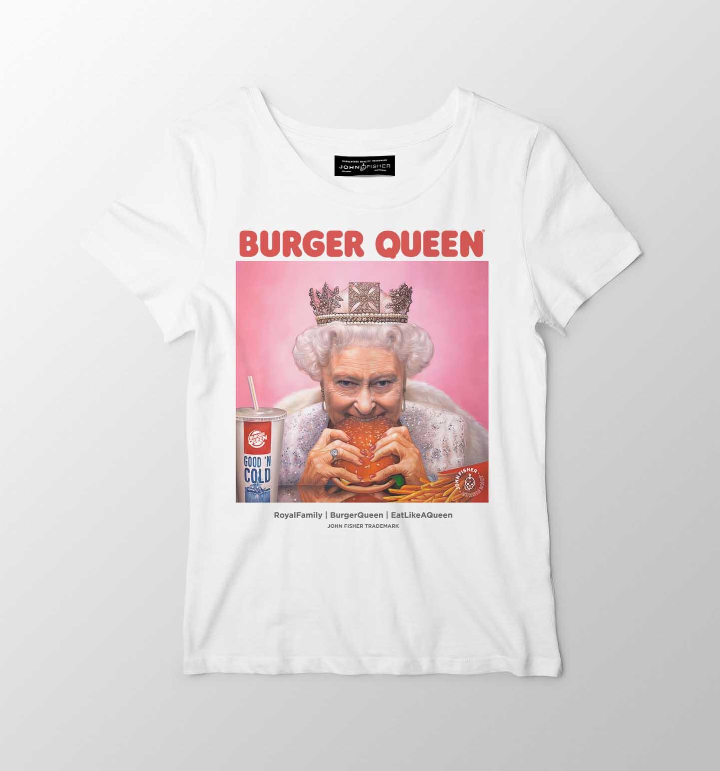 T-Shirt Feminina Burger Queen