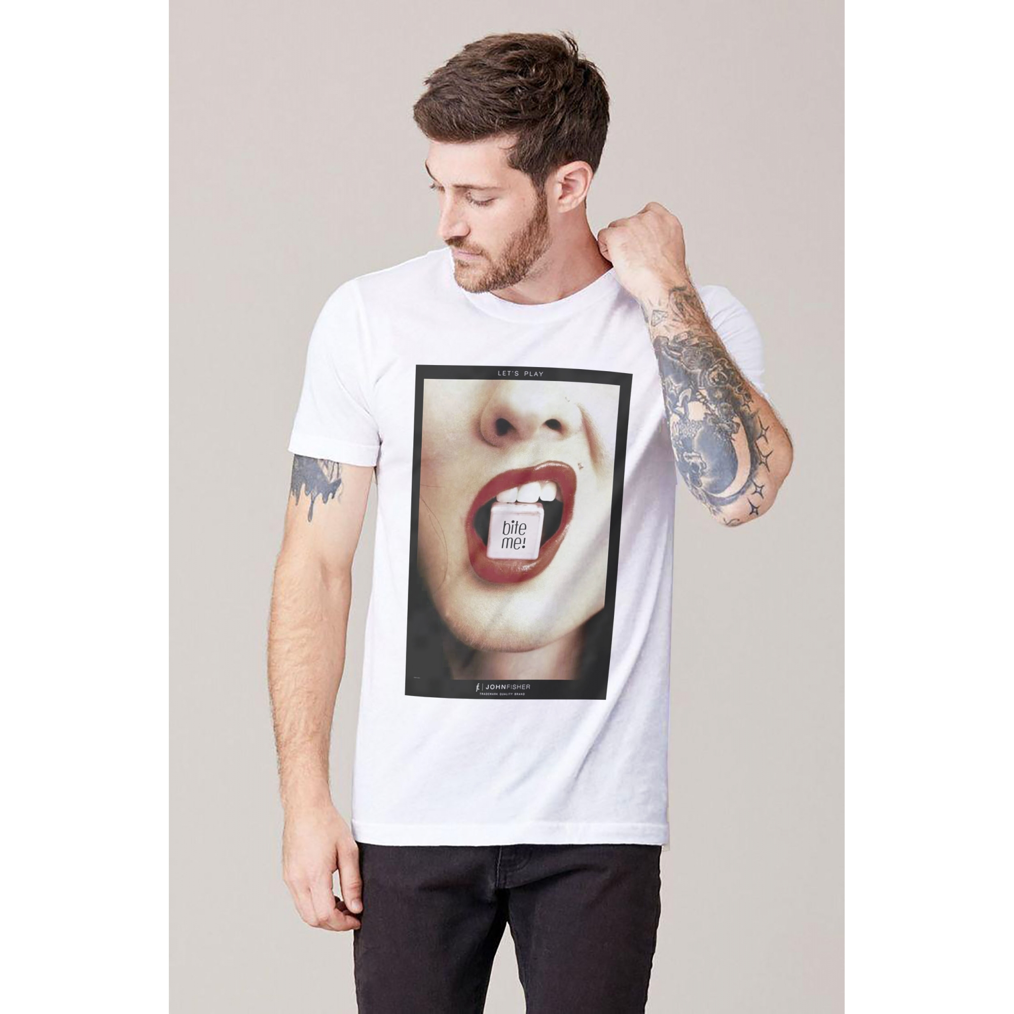 T-Shirt Let's Play