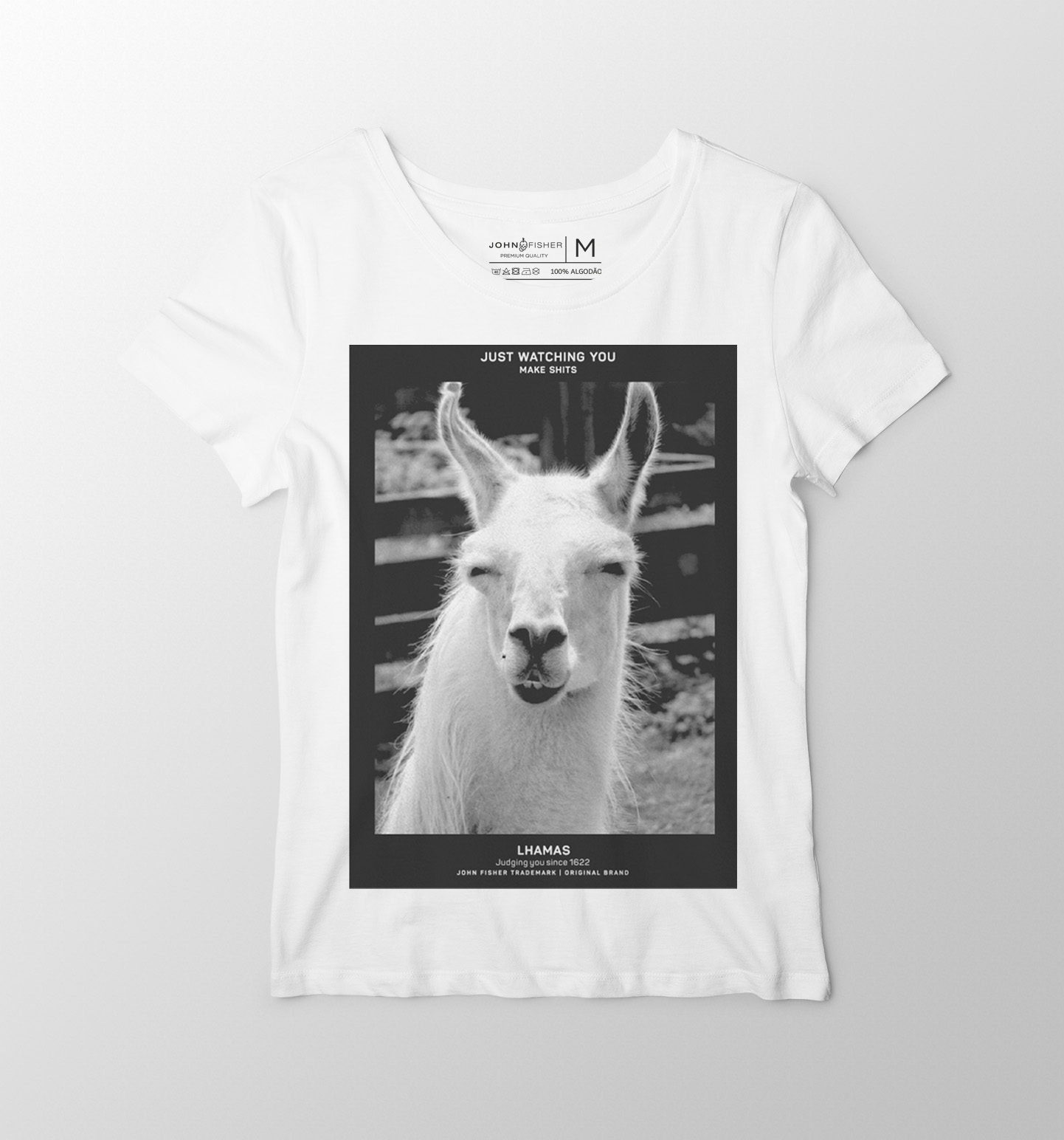 T-Shirt Feminina Lhama's