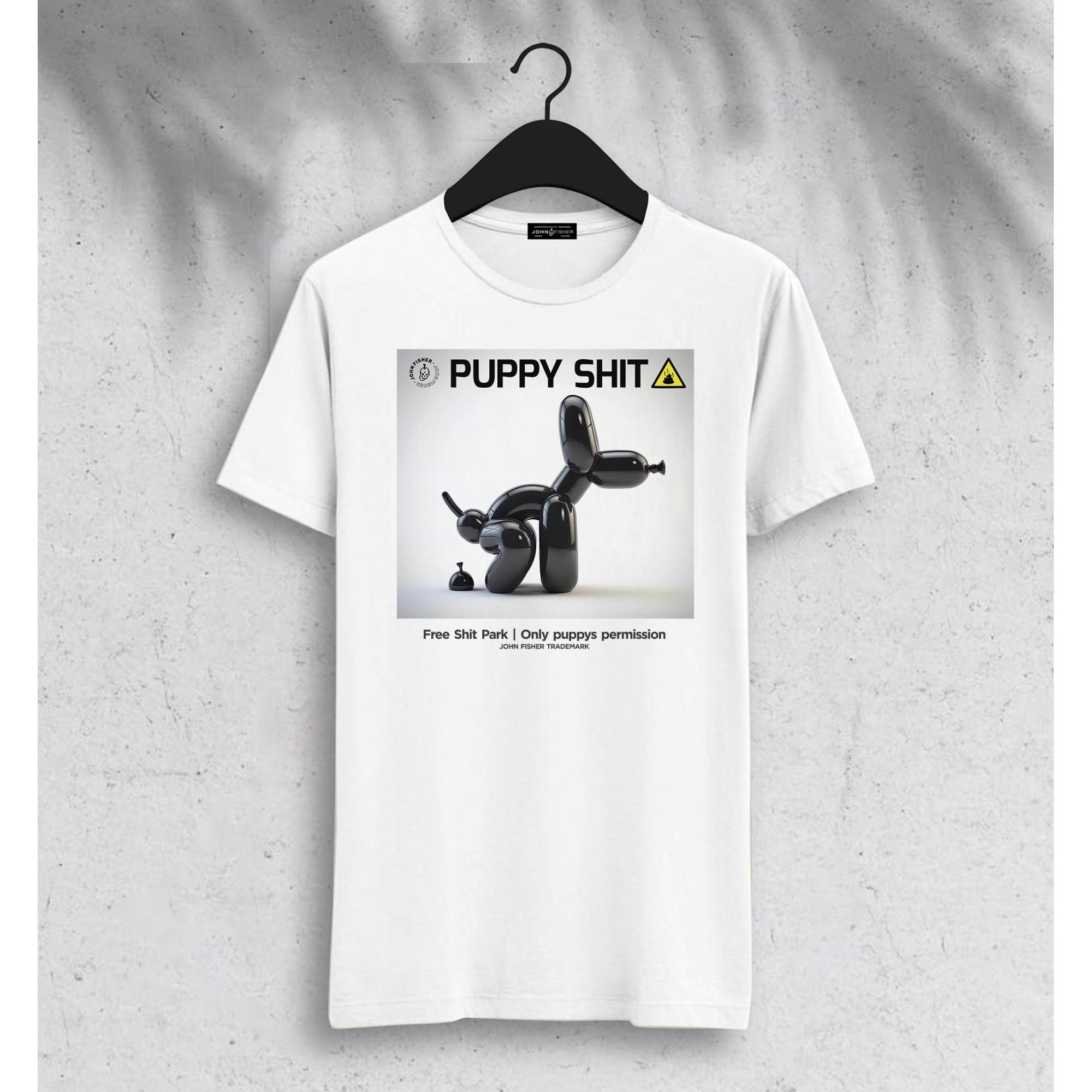 T-Shirt Puppy Shit