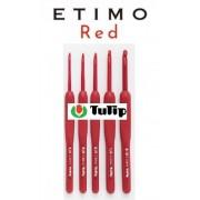 Agulha de crochê - Tulip Etimo Red