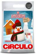 Kit amigurumi Natal - Boneco de Neve