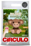 Kit Amigurumi Safari Baby - Macaco